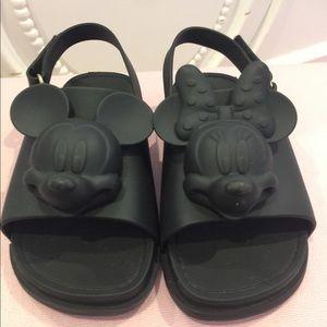 Mini Melissa Mickey & Minnie Sandal